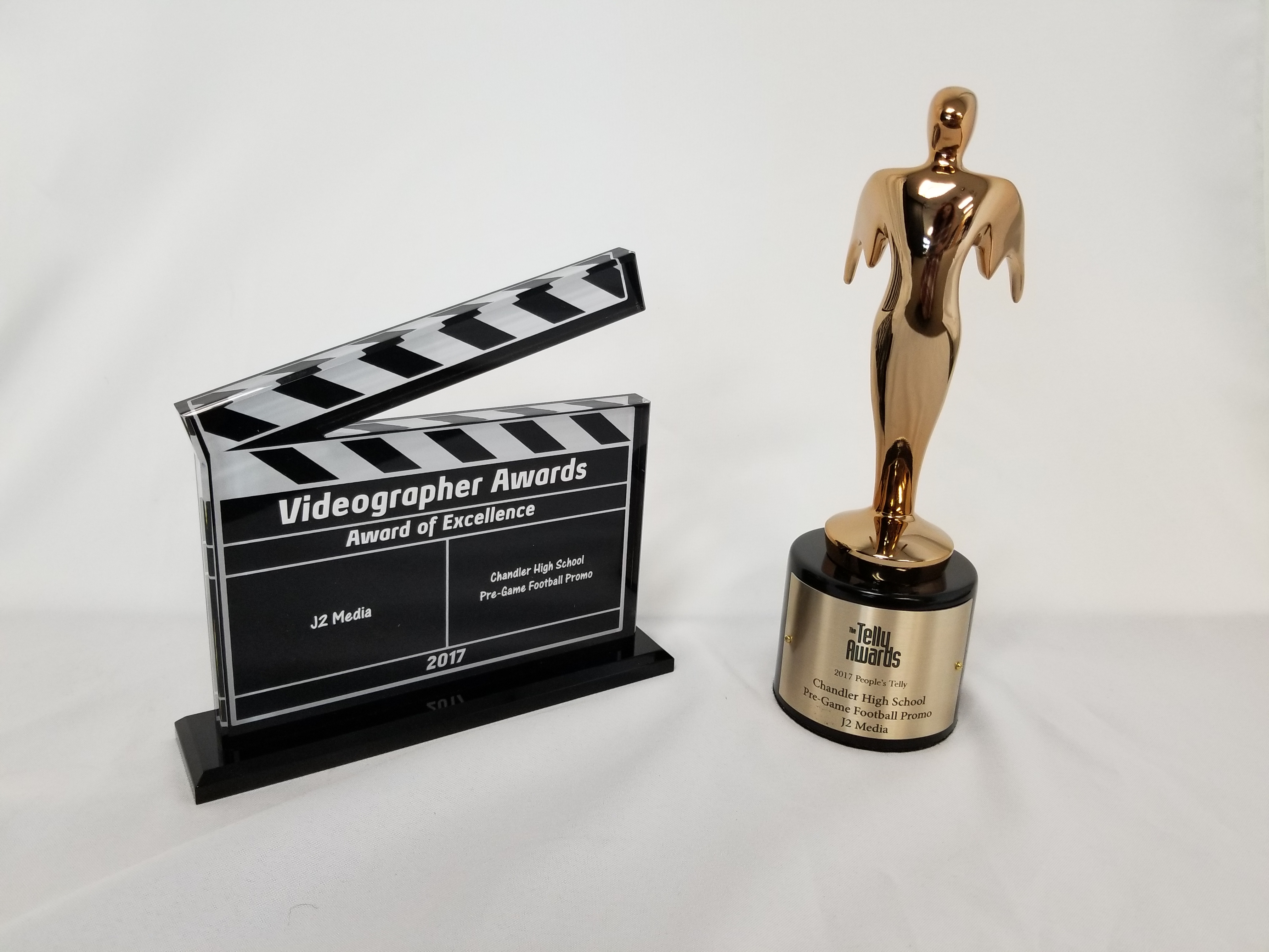 J2 Media Wins People's Telly and Videographer Award